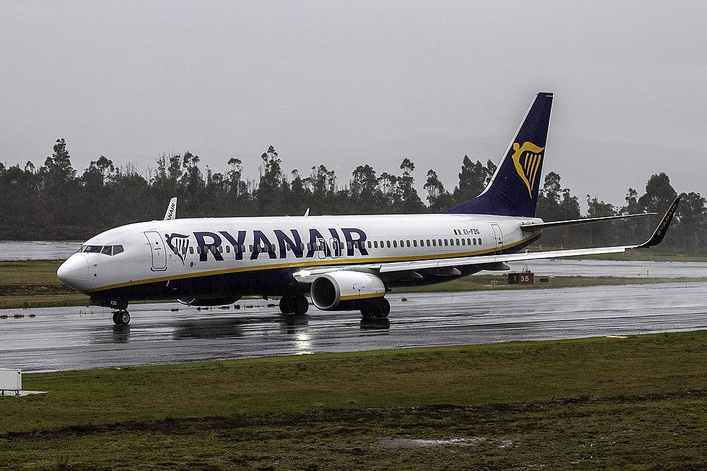 Avião Boeing 737-800 Ryanair