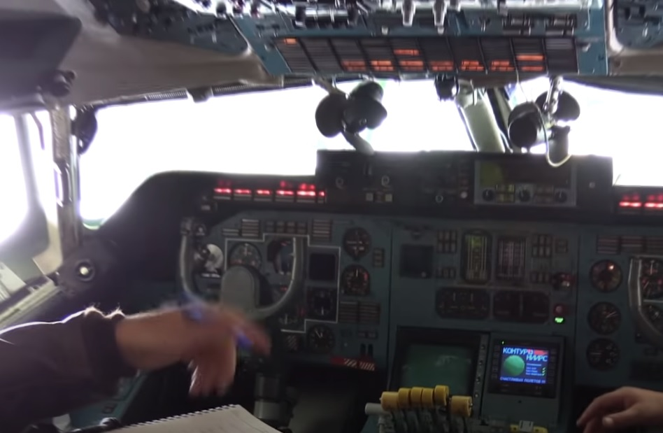 Vídeo Cockpit Antonov AN-225