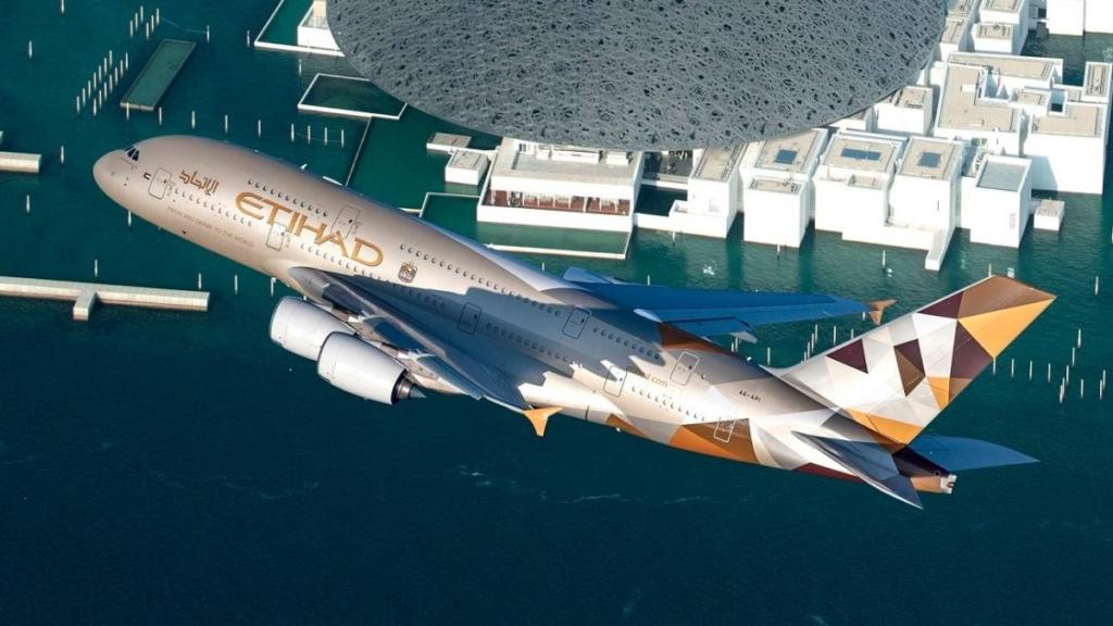 Airbus A380 Etihad
