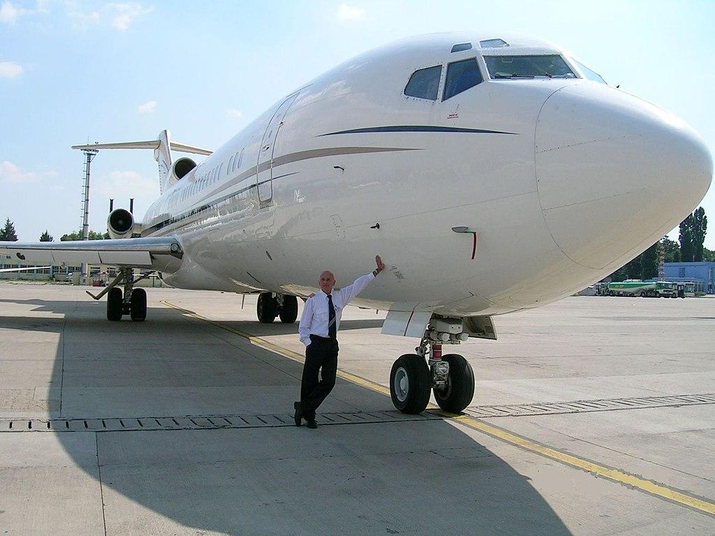 Avião Boeing 727-200 Piloto