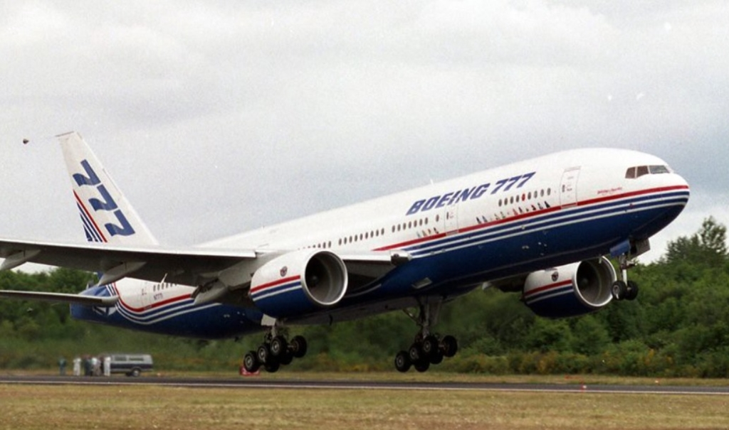 777 Maiden Flight 1994