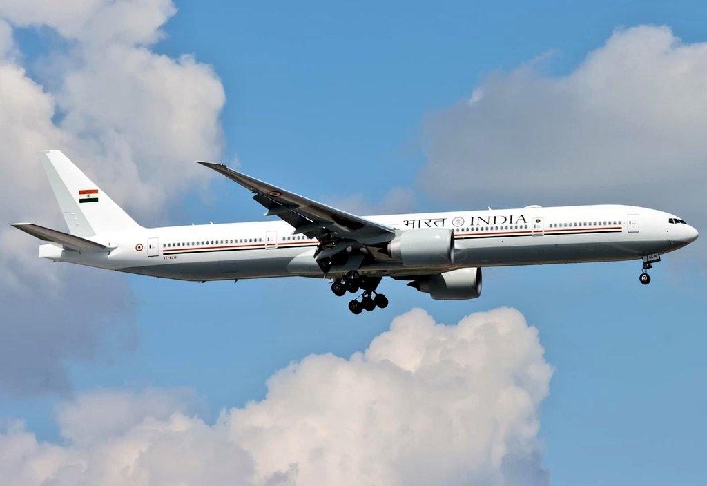 Avião Boeing 777-300ER Air India One