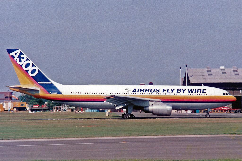 Avião Airbus A300B2-C1 Protótipo