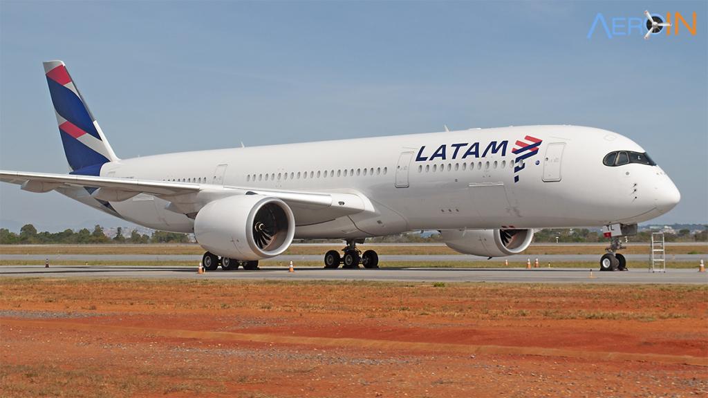 Ações Airbus A350 LATAM