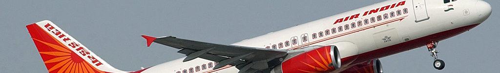 Avião Airbus A320 Rodas Duplas Air India