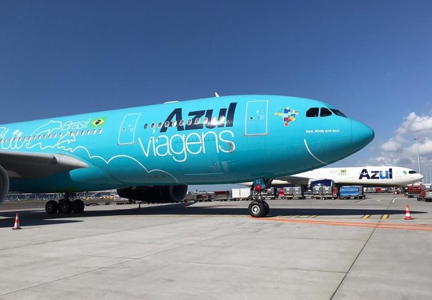Avião Airbus A330 Azul Viagens A330neo