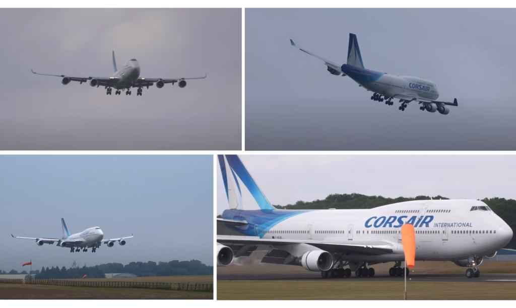 Video 747 Corsair Rasantes Orly Costwold