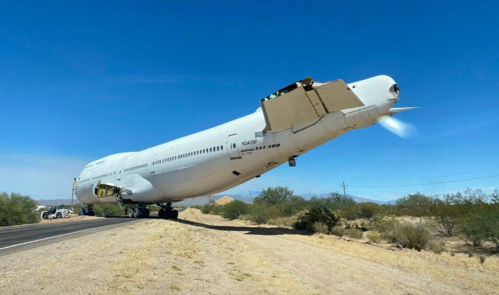 Boeing 747-300M Sabena Rodovia Restaurante Tucson