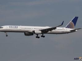 Avião Boeing 757-300 United