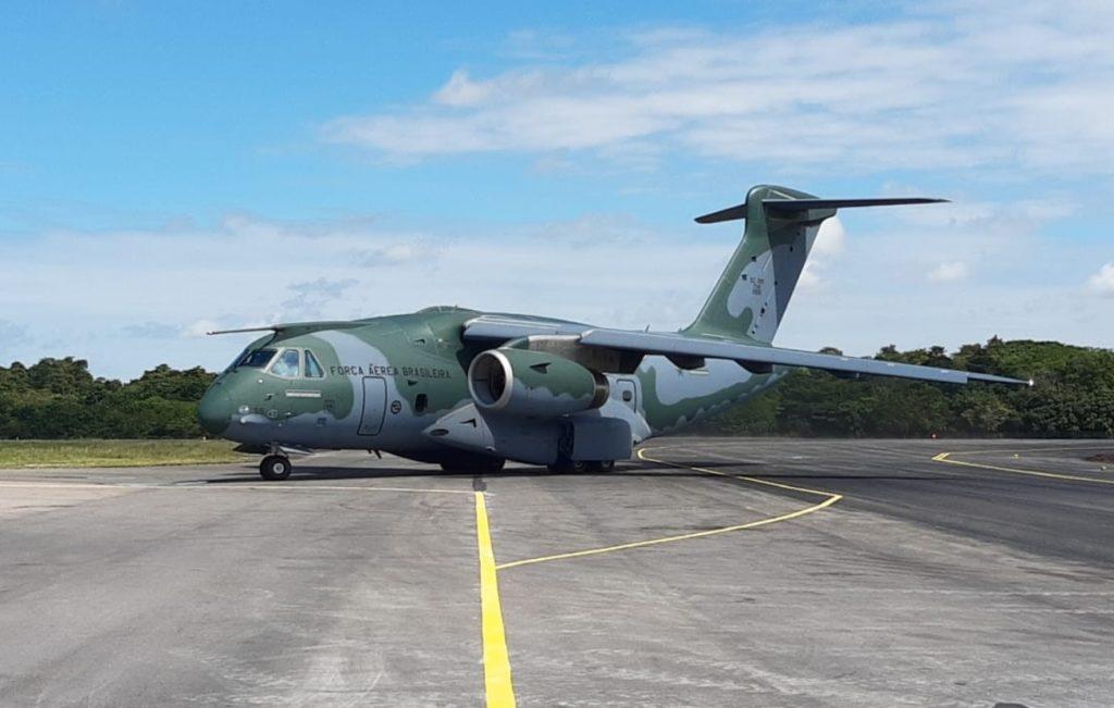 Aeroporto de Belém Val-de-Cans KC-390 Taxiway C