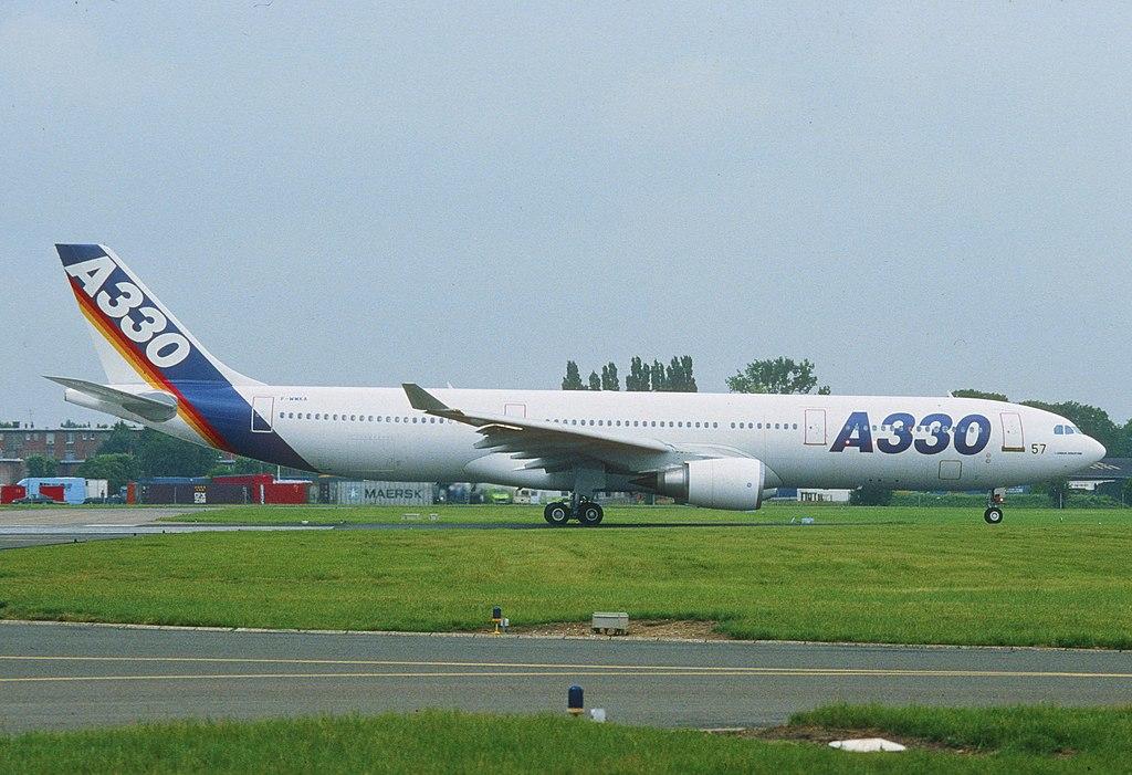 Avião Airbus A330-300 Primeiro Protótipo