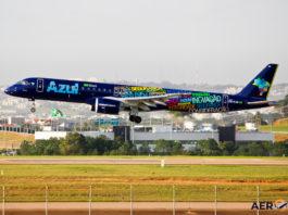 Avião Embraer E195-E2 Azul