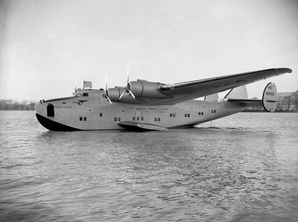 Boeing 314 Clipper Hidroavião