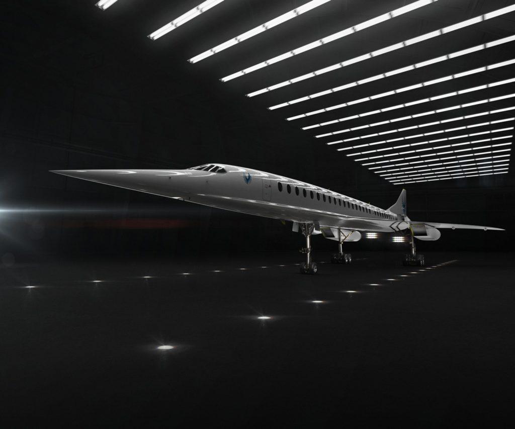 Avião Boom Supersonic Overture