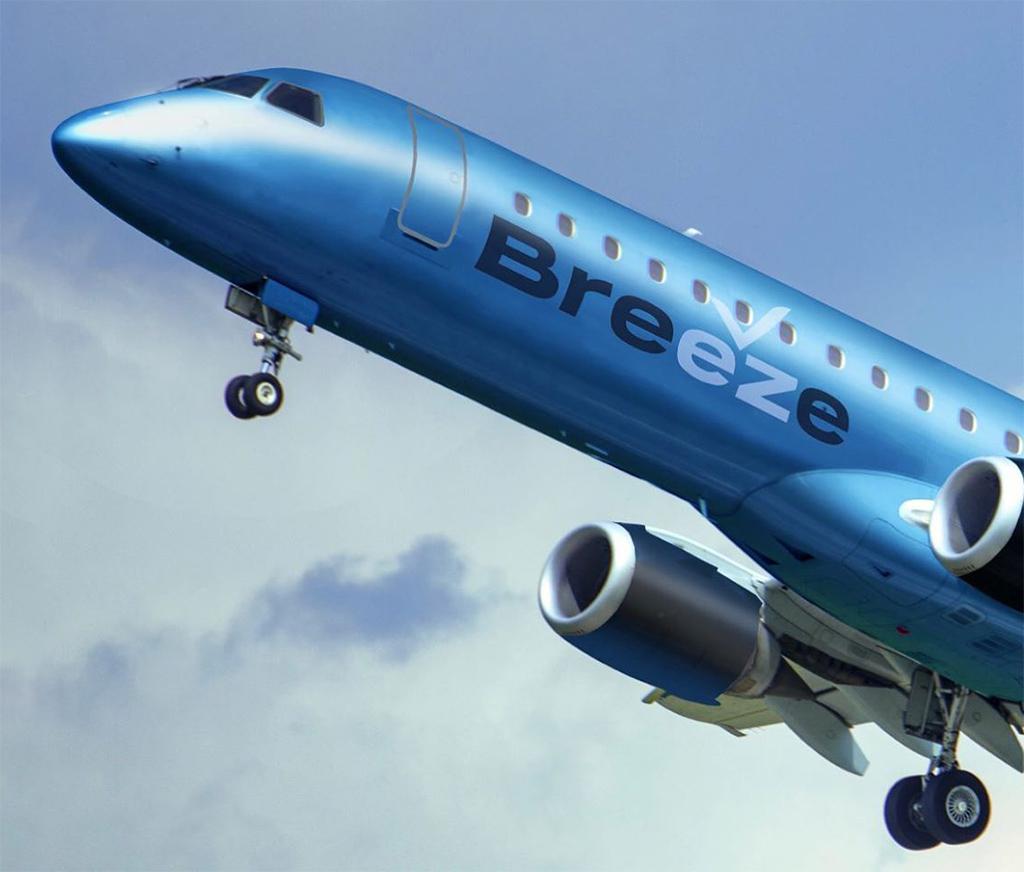 Breeze Azul Embraer E195