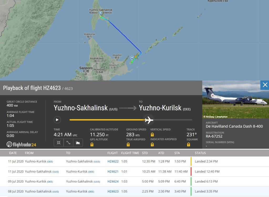 FlightRadar24 Voo incidente Dash 8 Roda Grama