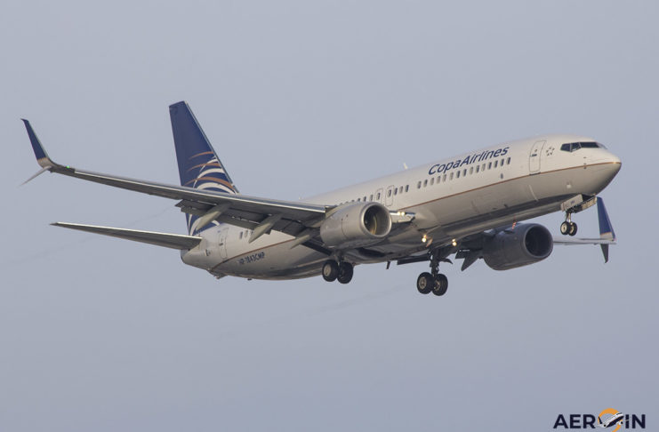 Avião Boeing 737-800 Copa