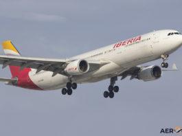 Avião Iberia A330