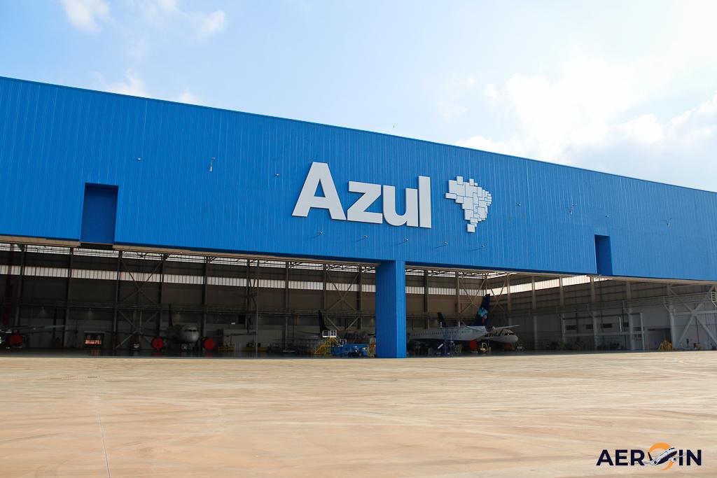 Hangar Manutenção Azul