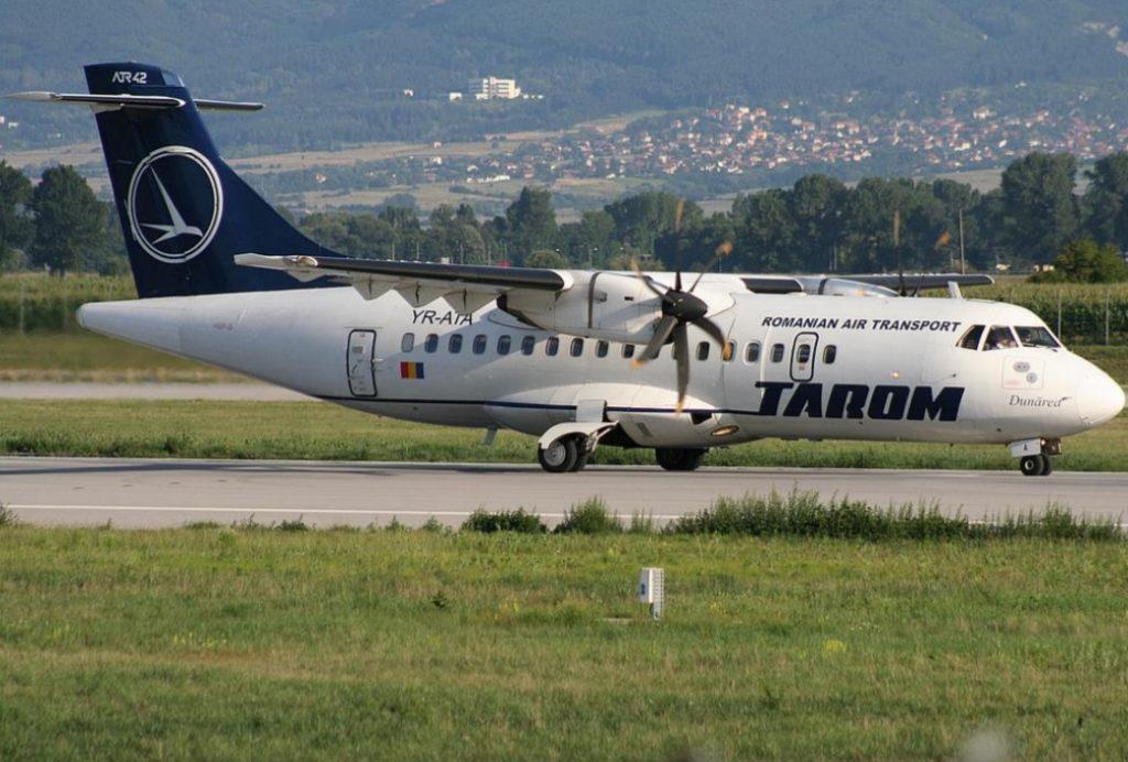 Avião ATR 42 TAROM Romênia