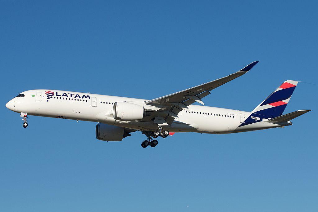 Avião Airbus A350-900 LATAM Brasil