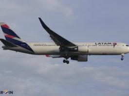 Avião Boeing 767-300 LATAM