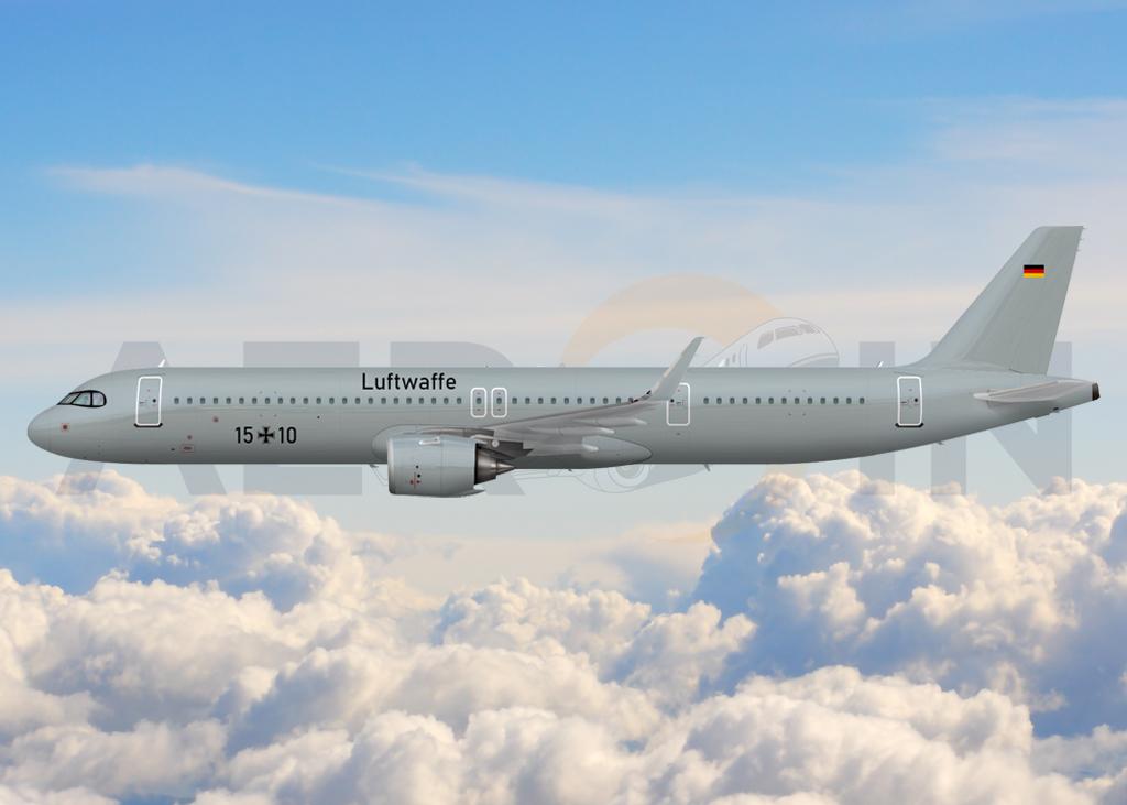 Airbus A321LR Luftwaffe