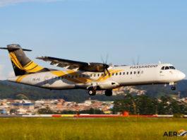 Avião ATR 72-600 Passaredo