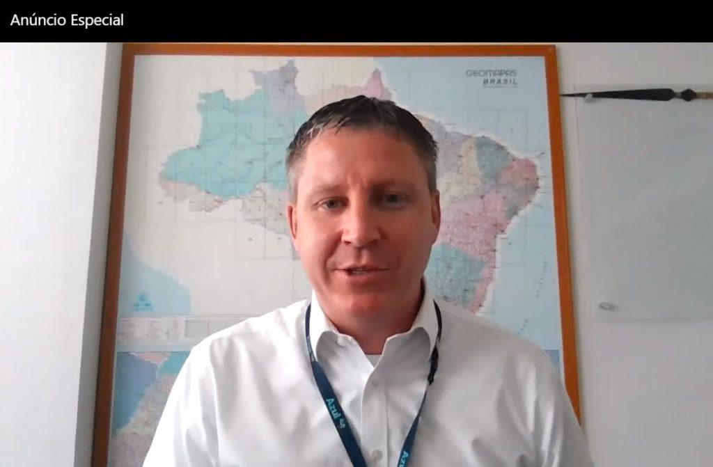 John Rodgerson CEO Azul Live Anúncio Especial