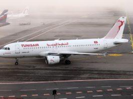 Avião Airbus A320 Tunisair