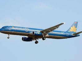 Avião Airbus A321 Vietnam Airlines