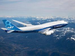 Avião Boeing 747-8I