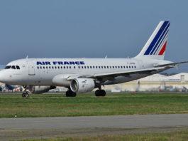 Avião Airbus A319 Air France