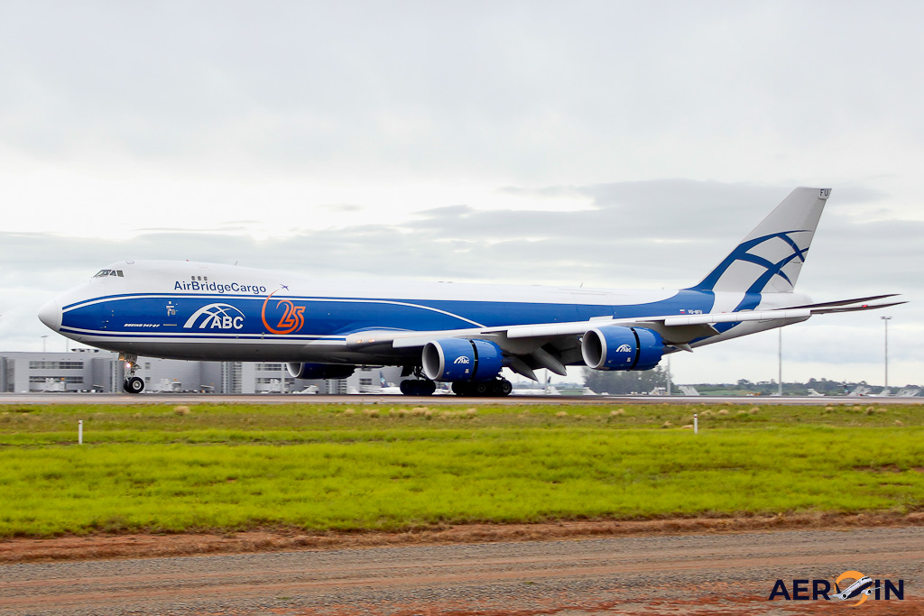 Avião Boeing 747-8F AirBridgeCargo