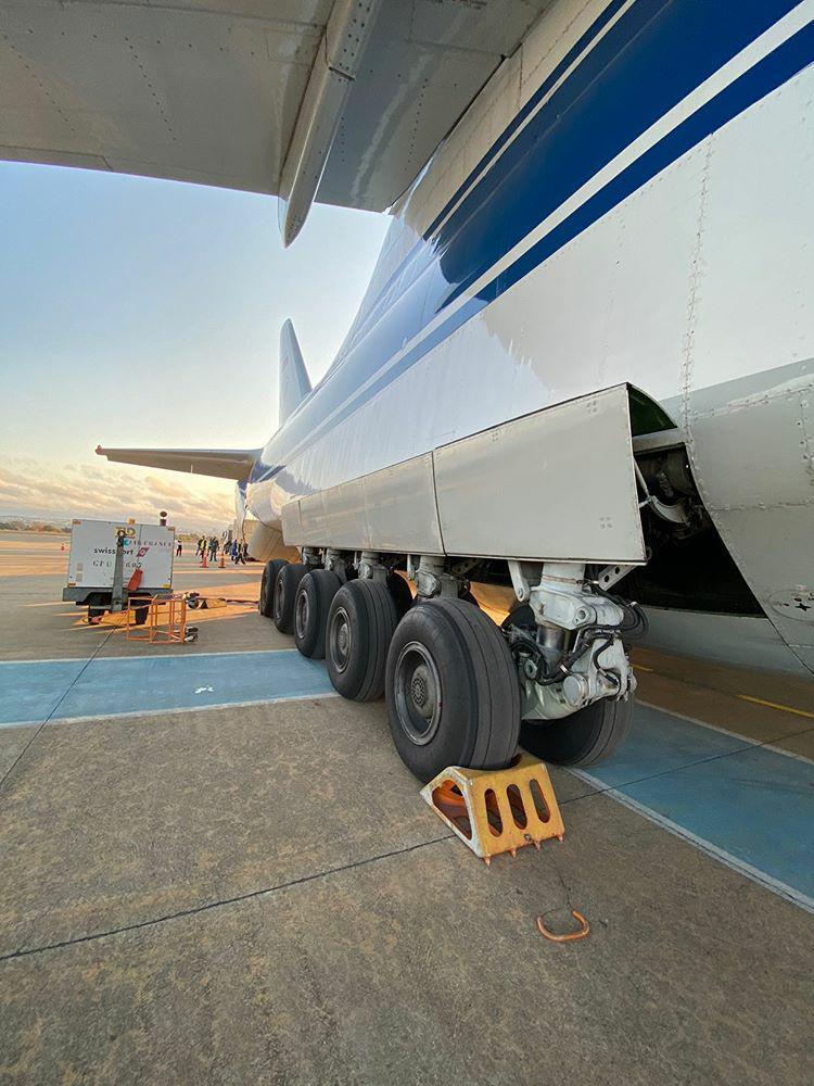 Avião Antonov AN-124 Ruslan Brasília