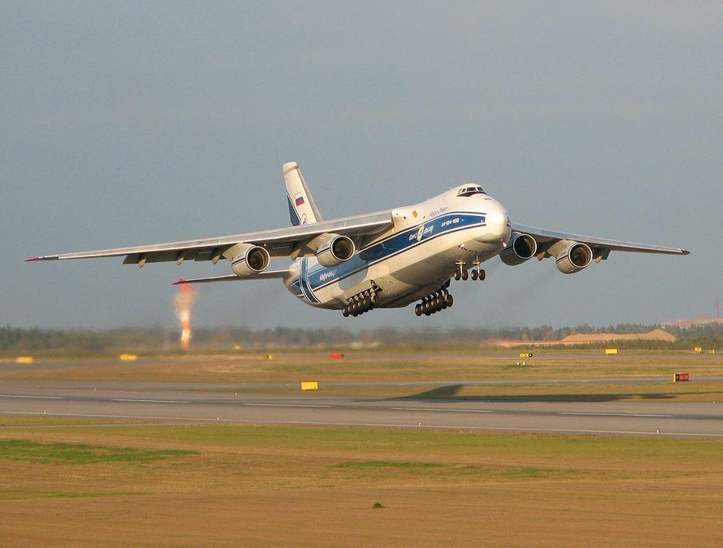 Avião Antonov AN-124 Ruslan Volga-Dnepr