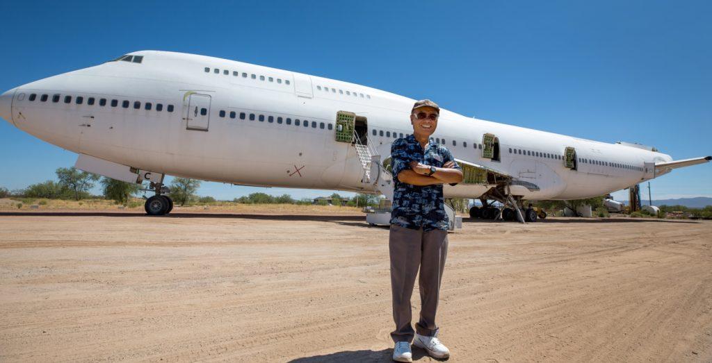 Toshikazu Tsukii Jumbo Boeing 747 Loja Arizona Tucson