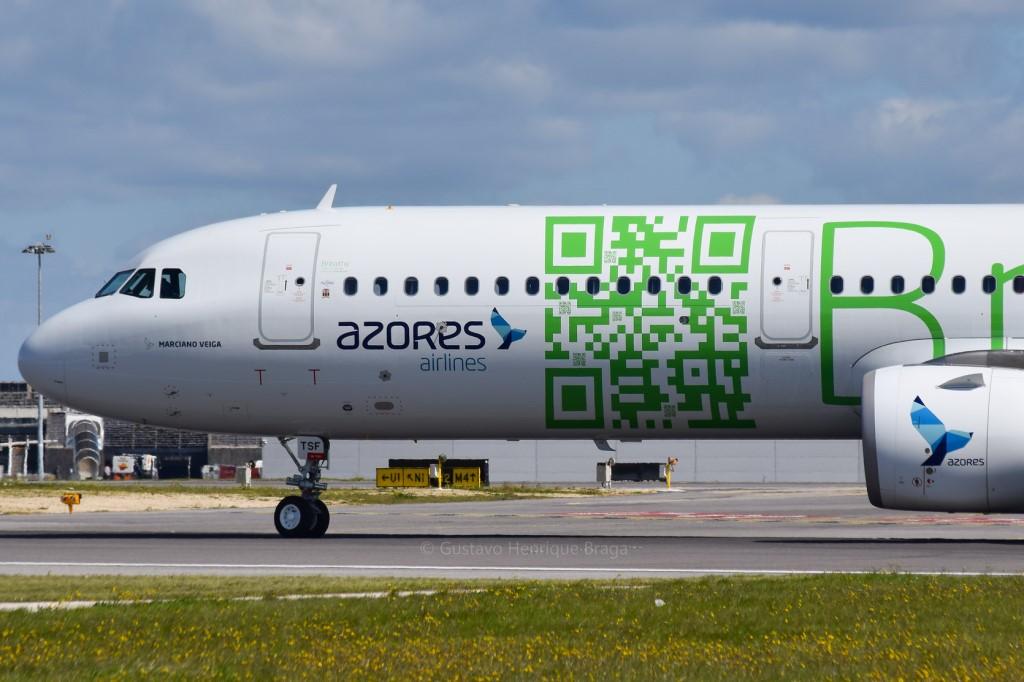 A321neo QR Code Sata