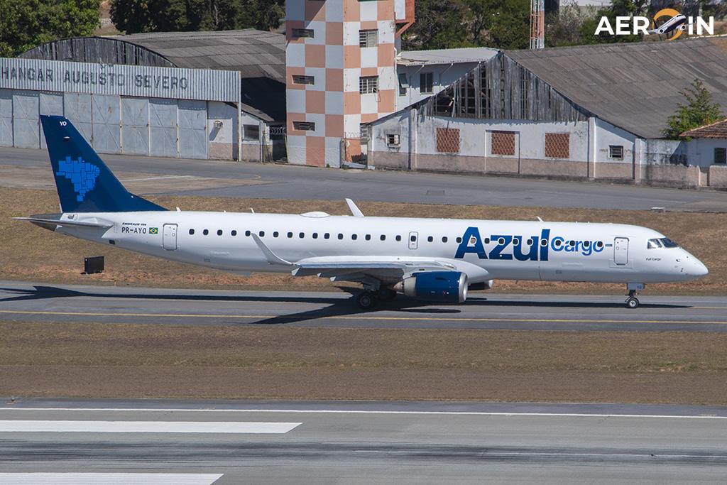 Avião Embraer E195 Adaptado Azul Cargo