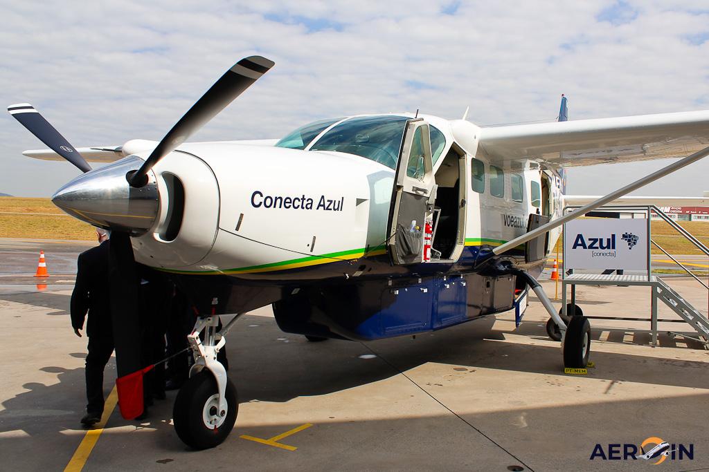 Azul Conecta Avião Cessna C208 Grand Caravan