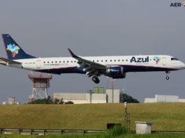 Avião Embraer E195 Azul Linhas Aéreas