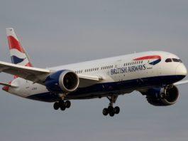 Avião Boeing 787-8 British Airways