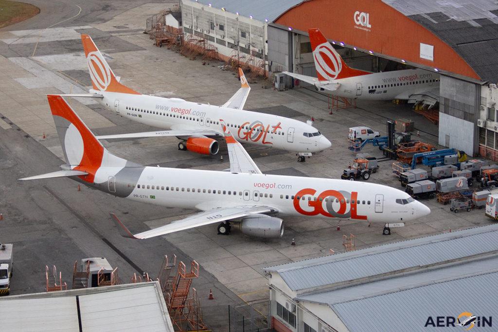 Aviões Boeing 737 GOL Congonhas