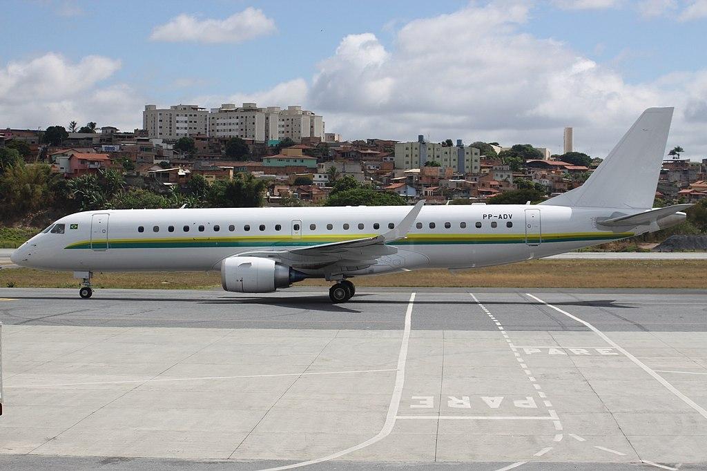 Avião Embraer E190 Vale