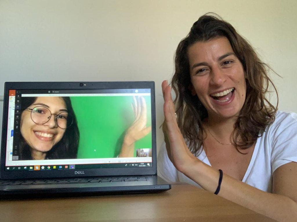 Colaborador Lufthansa aula inglês jovem Guarulhos
