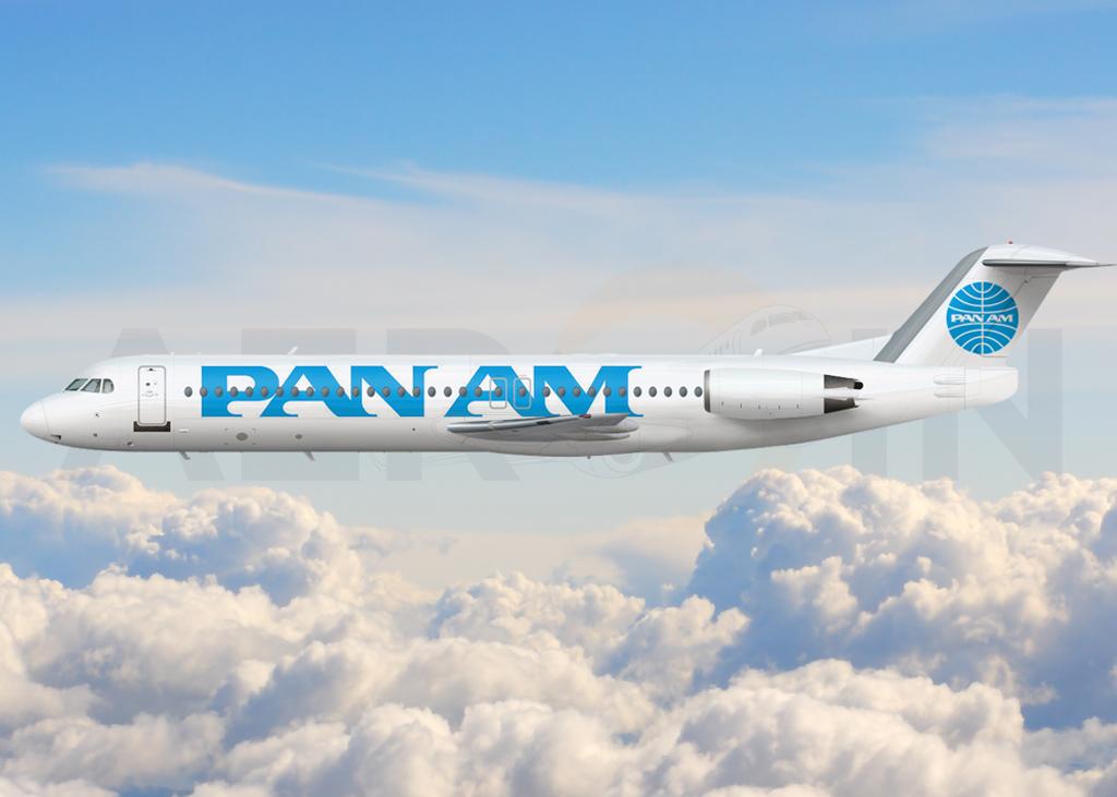 Fokker 100 Pan Am