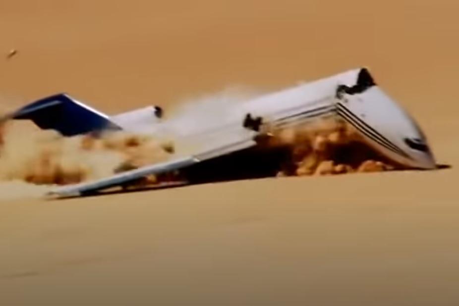 Vídeo 727 Crash Test