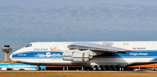 Avião Antonov AN-124 Volga-Dnepr