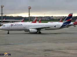 Avião Airbus A321 LATAM