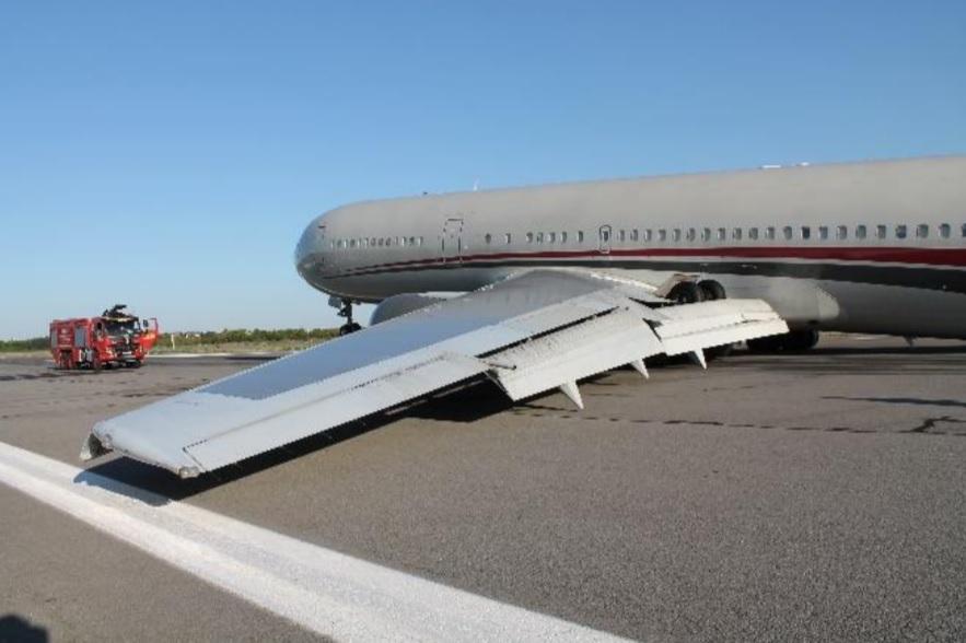 AIAS Romênia Acidente Trem de Pouso 767 Omni